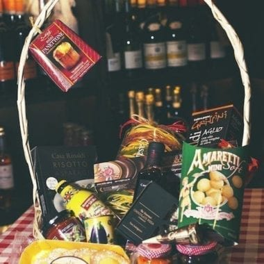 Italian Christmas Hamper - Gift Wrapped