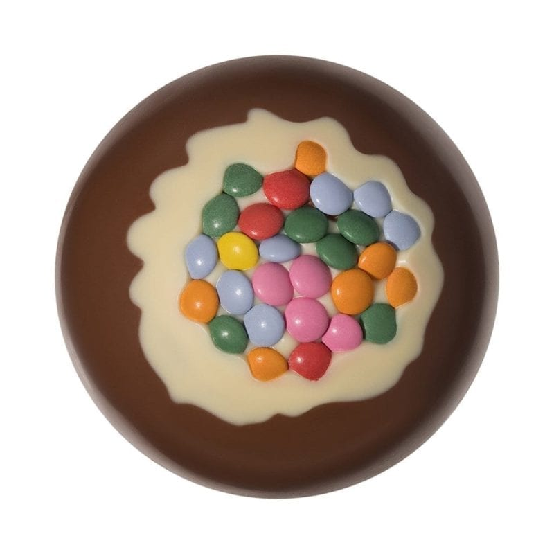 Milk Chocolate Candy Coated Christmas Bauble 2