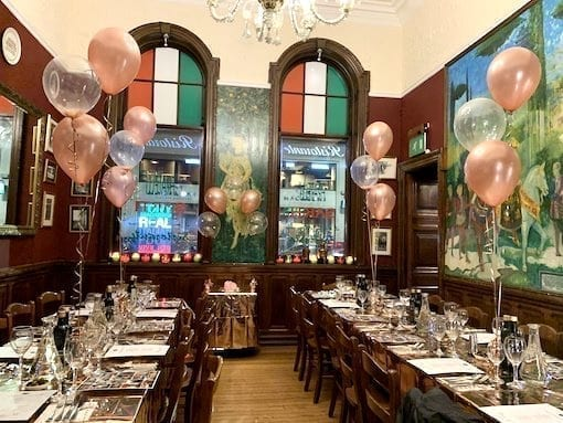 Private Dining Glasgow - Sarti Renfield St