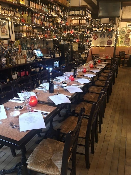 Restaurant Large Booking Glasgow - Sarti Wellington St