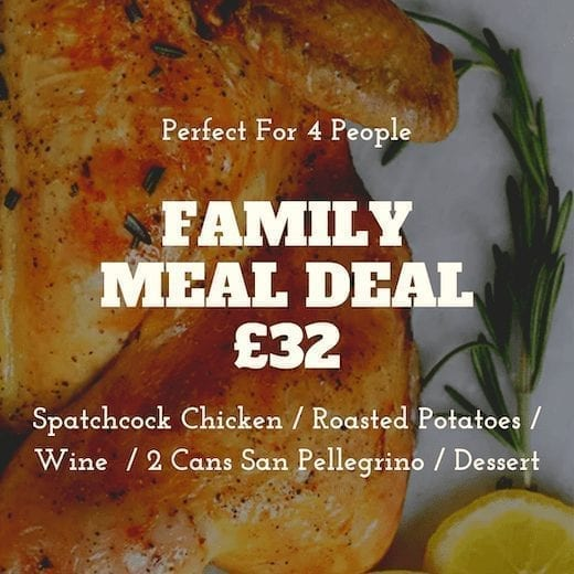 Sarti @ Home - Meal Deal For 4