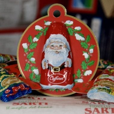 Caffarel Chocolate Santa Tree Decoration