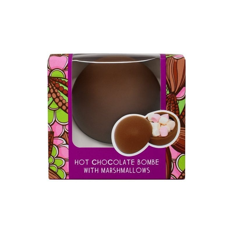 Hot Chocolate Bombe With Marshmallows