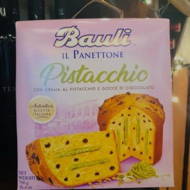 Pistacchio Panettone On Display - Sarti, Glasgow