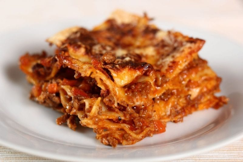 Lasagne al Forno - Valentines Menu at Home - Sarti, Glasgow