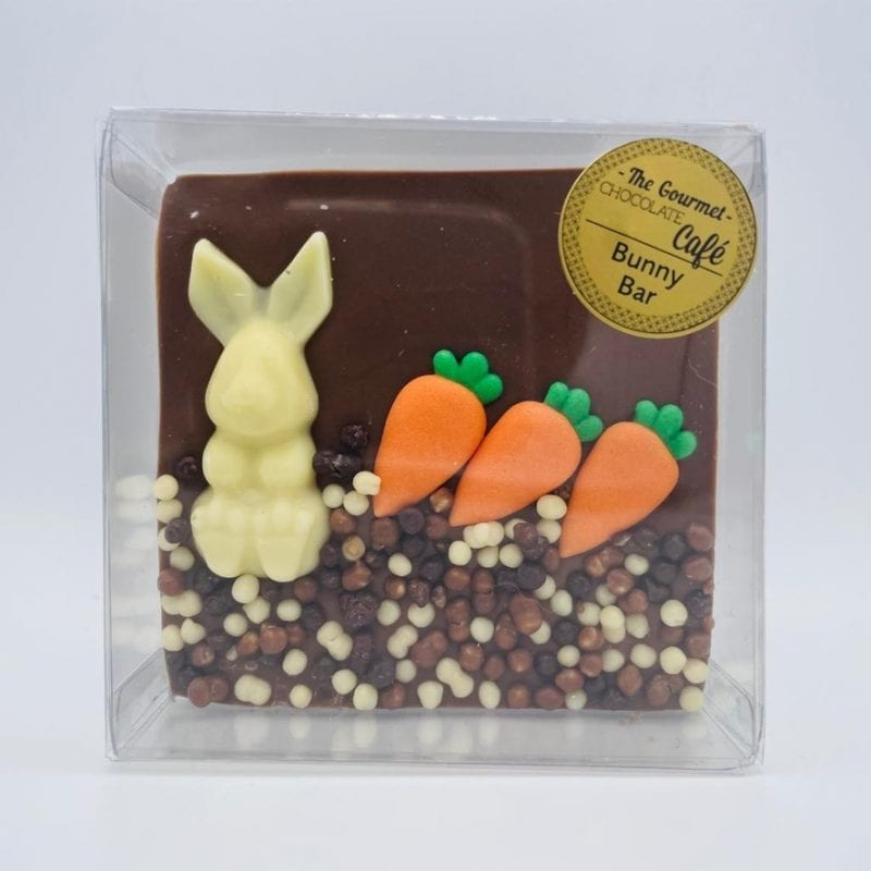 Chocolate Bunny & Carrot Bar