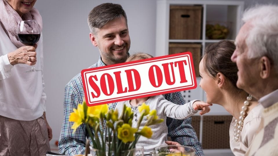 mother's day meal Glasgow - sold out