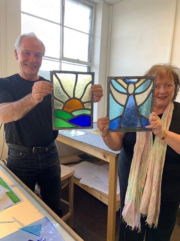 1 Day Stained Glass Class
