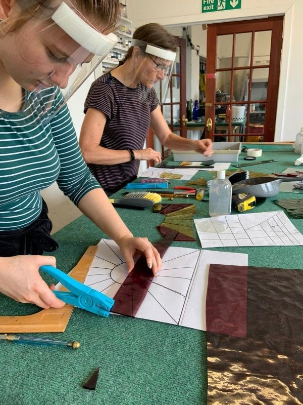1 day stained glass course #2 - Aug 2020