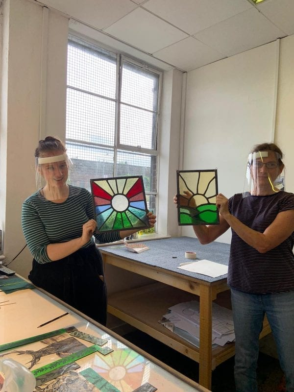 1 day stained glass course #3 - Aug 2020