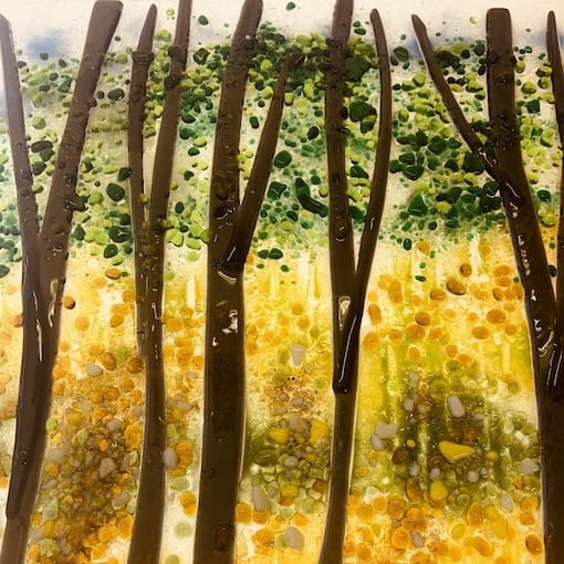Fused glass courses - Glasgow - Cass Peters Glass Art