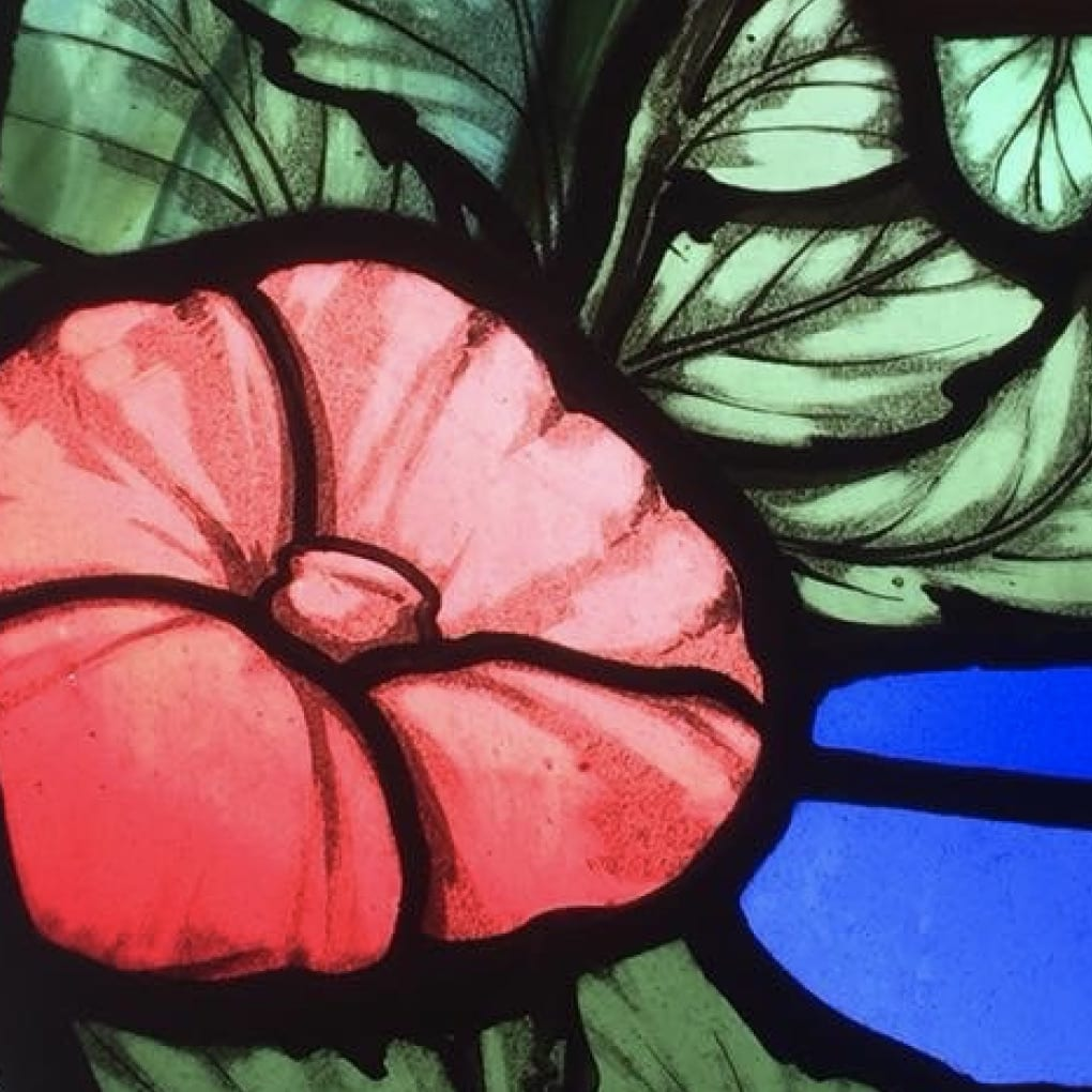 stained glass classes - Glasgow - Cass Peters Glass Art