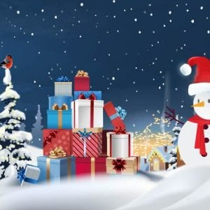 merry christmas gift voucher