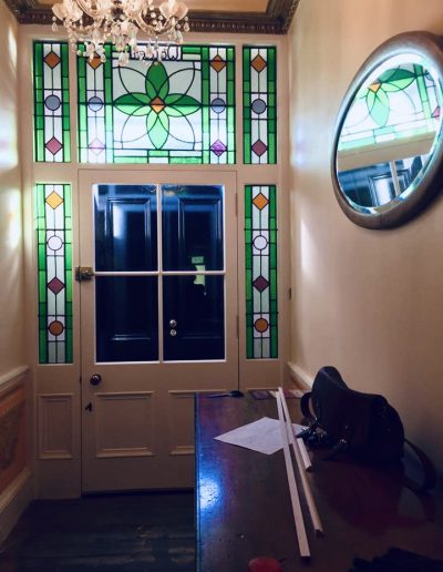 Stained Glass Entrance - Kilcreggan