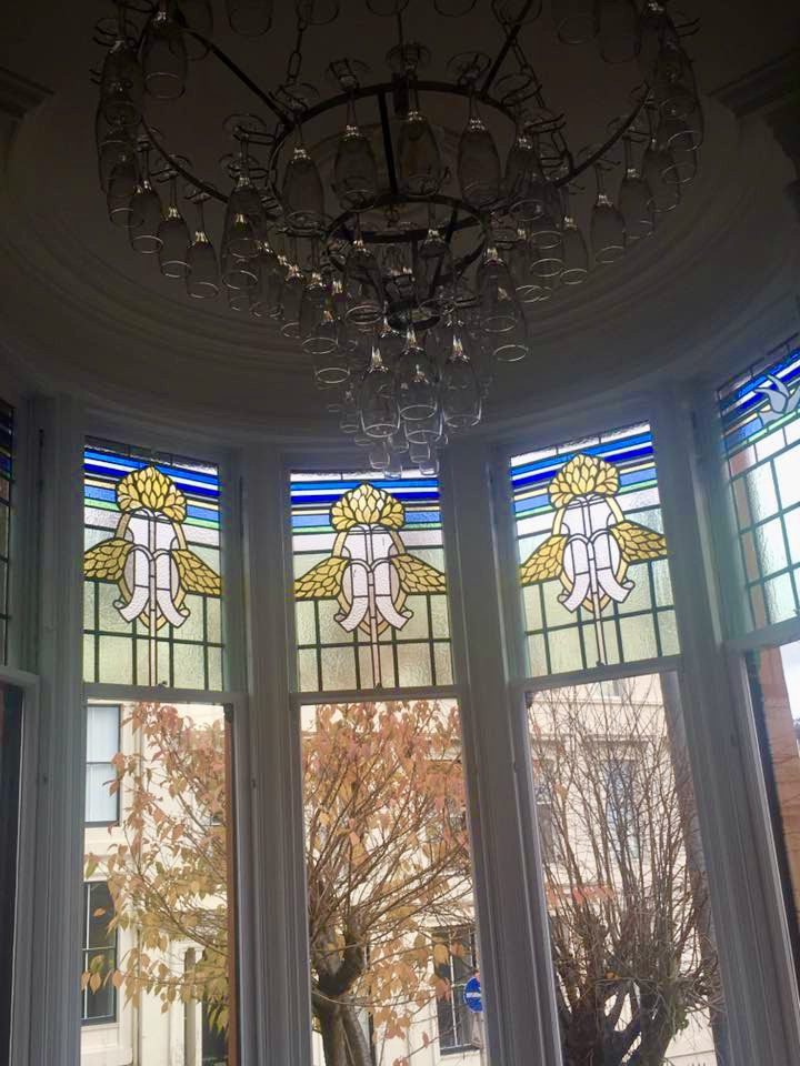 Stained Glass Window Design - Glasgow West End