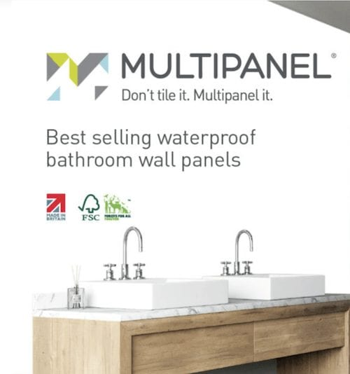 Multipanel - wet wall panels Glasgow