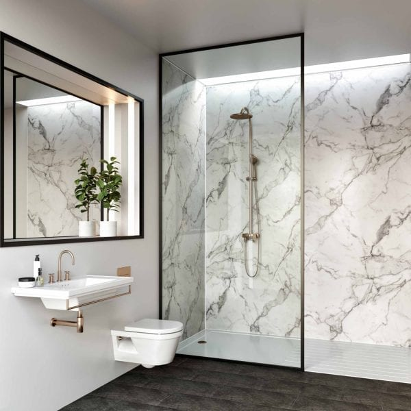 Linda Barker Calacatta Marble, KM Decorative Surfaces - Glasgow