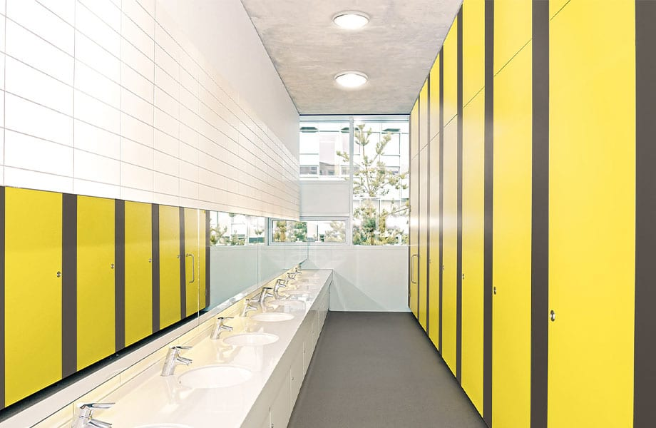 Toilet Cubicles & IPS - Formica - KM Decorative Surfaces, Glasgow