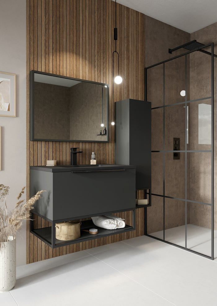 Ambience - Fitted Bathroom Design Glasgow - KM Decorative Surfaces