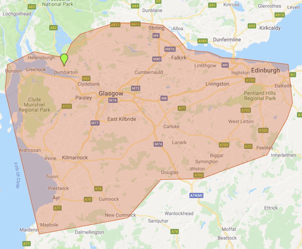 Stripkwik Service Area - Glasgow, Edinburgh & Ayrshire