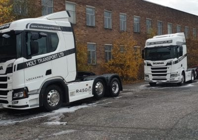Holt Transport - Truck Post Clean - Prestige Fleet Cleaning