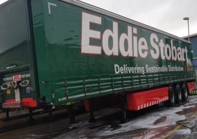 Eddie Stobart - Lorry Cleaning - Eddie Stobart - Truck Post Clean - Prestige Fleet Cleaning