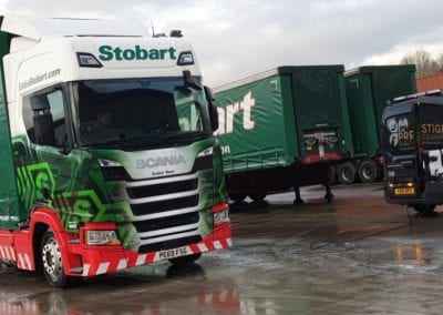 Eddie Stobart - Truck Post Clean - Prestige Fleet Cleaning