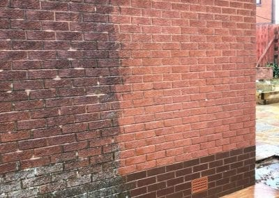 walls / brickwork pressure washing glasgow