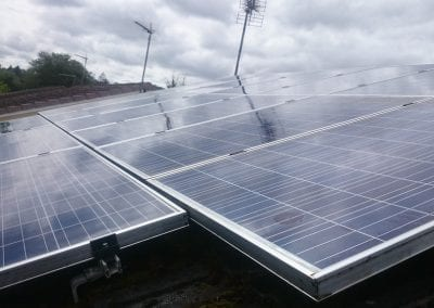 Solar Panel Cleaning - Renfrewshire