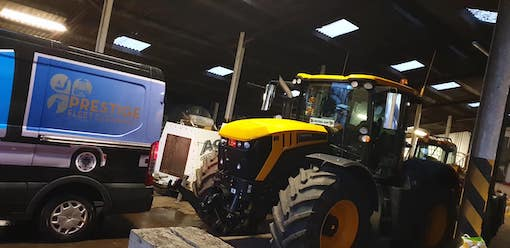 mobile agricultural & tractor cleaning - prestige fleet cleaning, Glasgow