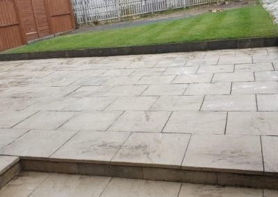 Patio cleaning - Glasgow & Paisley