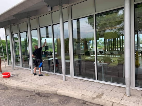 Window Cleaning - McDonalds - Braehead