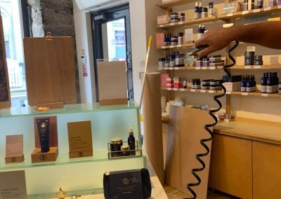 Fogging 2 - Neal's Yard Remedies, Glasgow