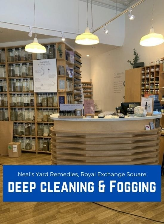 Deep Cleaning & Fogging - Glasgow