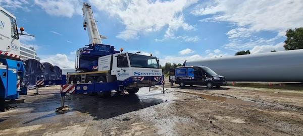 Crane Cleaning 2 - Greenock, Scotland - Prestige Fleet Cleaning