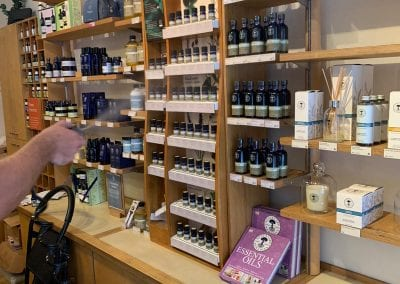 Fogging - Neal's Yard Remedies, Glasgow