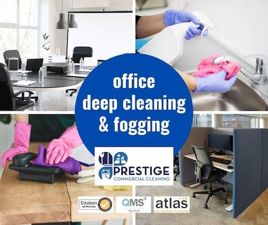 office deep cleaning Glasgow - Prestige Commercial Cleaning