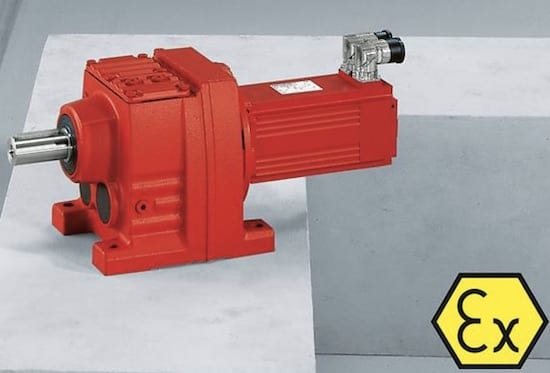 SEW Explosion-proof helical servo gearmotors