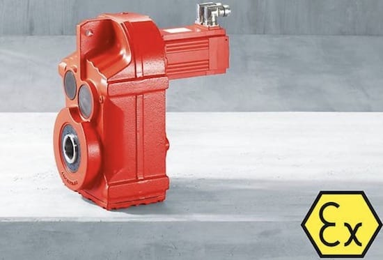 SEW Explosion-proof parallel-shaft helical servo gearmotors
