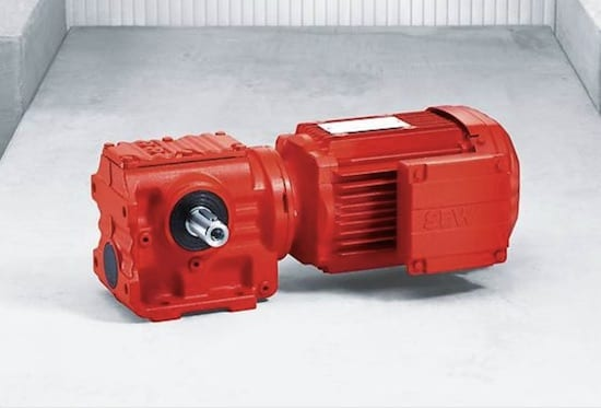 SEW S series helical-worm gear units