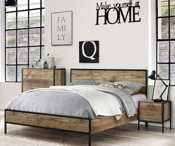 Birlea Bedroom Furniture - Clyde Bed Centre
