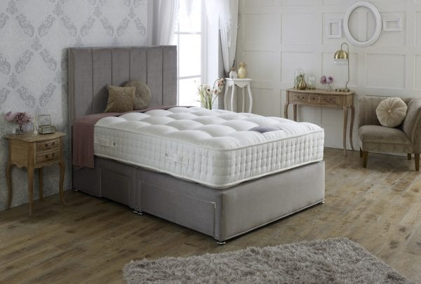 Tay Natural 1000 Divan Bed Set 2