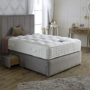 Tay Natural 1000 Divan Bed Set 1