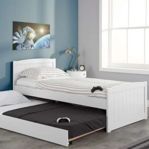 Beckton Trundle Bed White Trundle Out_RS