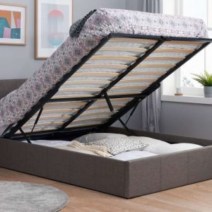 Berlin Fabric Small Double Ottoman Bed_RS_Otto UP