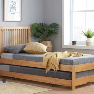 Birlea Buxton Trundle Guest Bed Pine_RS